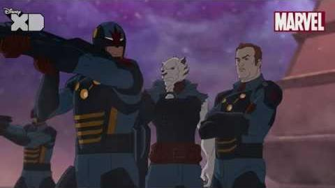 Guardians of The Galaxy Drax Part 2 Official Disney XD UK