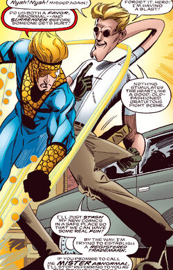 Spider-Girl Vol 1 15 page 11 Mister Abnormal (Earth-982)