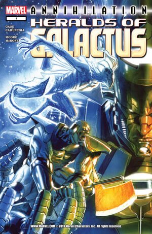 Annihilation Heralds of Galactus Vol 1 1