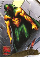 Vision (Earth-616) from Marvel Masterpieces Trading Cards 1995 0001