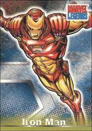 Anthony Stark (Earth-616) from Marvel Legends (Trading Cards) 0003