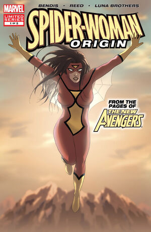 Spider-Woman Origin Vol 1 1