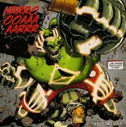Bruce Banner (Earth-616) and Sanjay (Earth-616) from Fear Itself Hulk vs. Dracula Vol 1 2 0001