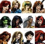 Lady Liberators (Earth-12131) Marvel Avengers Alliance