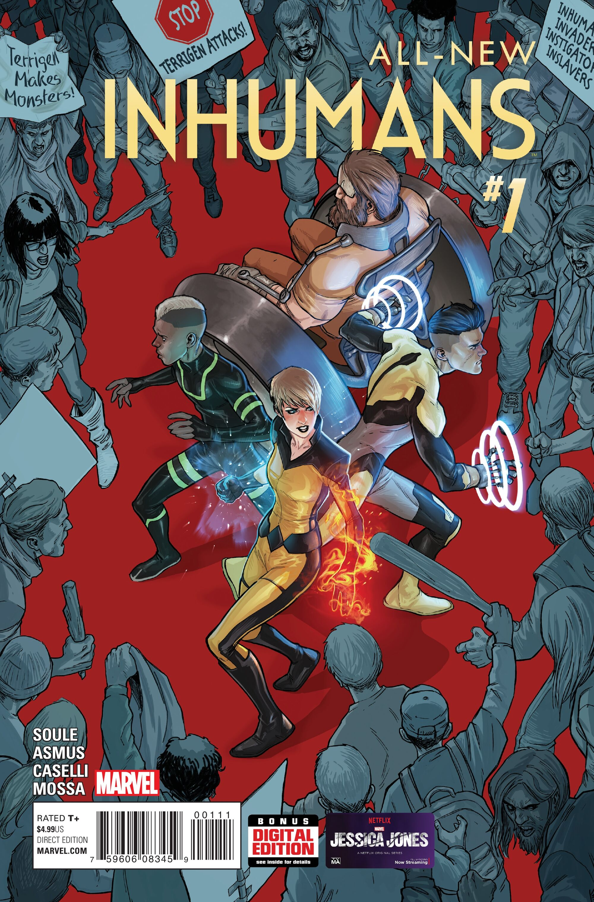 All New All Different Avengers Vol 1 2: All-New Inhumans Vol 1 1
