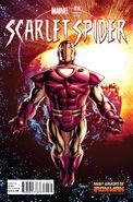 Scarlet Spider Vol 2 16 Many Armors of Iron Man Variant
