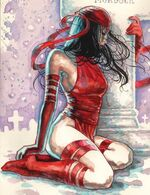 Elektra Natchios (Earth-12121) Daredevil End of Days Vol 1 1
