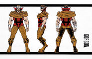 Gorgon Petragon (Earth-616) from Official Handbook of the Marvel Universe Master Edition Vol 1 1