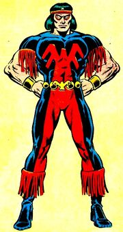 John Proudstar (Earth-616) from Official Handbook of the Marvel Universe Vol 1 14