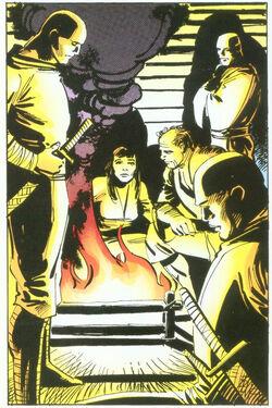 Chaste (Earth-616) from Daredevil Vol 1 190 0001