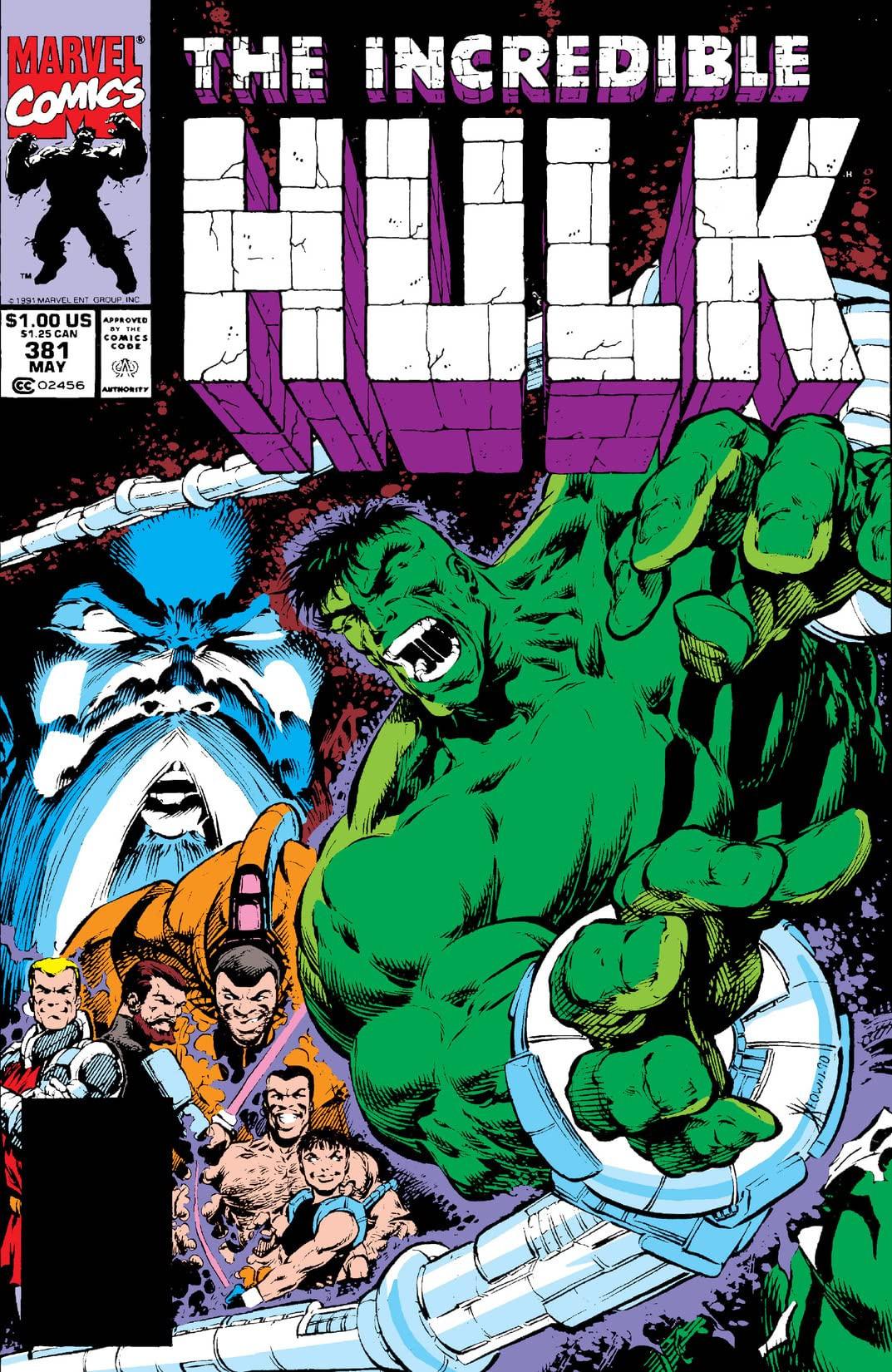 Resultado de imagem para HULK # 381