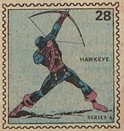 Hawkeye Marvel Value Stamp