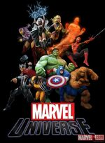 Marvel Universe MMO promo art