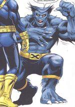 Henry McCoy (Earth-161) from X-Men Forever Vol 2 7 0001