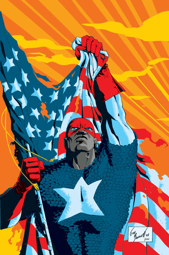 American pride status: restored via badassery. Source: Marvel Database