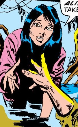 Mary Brown (Man-Thing) (Earth-616) from Fear 18 0001