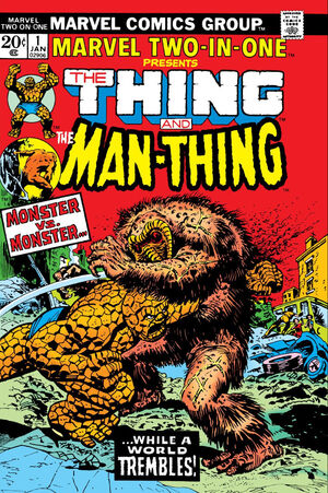 Marvel Two-In-One Vol 1 1