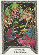 Stephen Strange, Peter Parker and Karl Mordo (Earth-616) Spider-Man Team-Up (Trading Cards) 0001