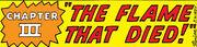 Fantastic Four Vol 1 3 Chapter 3 Title