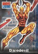 Matthew Murdock (Earth-616) from Marvel Legends (Trading Cards) 0002