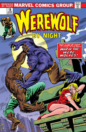 Werewolf by Night Vol 1 18