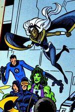 X-Men (Earth-9411) Spectacular Spider-Man (UK) Vol 1 154
