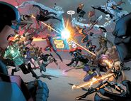 Civil War II Vol 1 5 pages 3-4