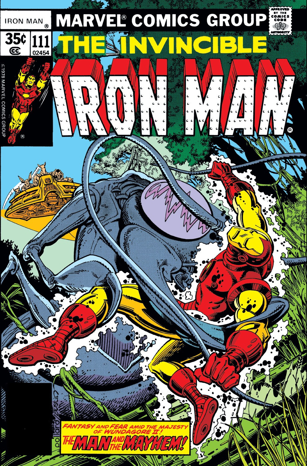 Iron man vol 1 111 marvel database fandom powered by wikia - Iron man 1 images ...