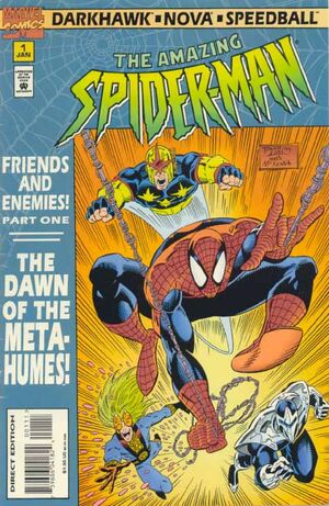 Spider-Man Friends and Enemies Vol 1 1