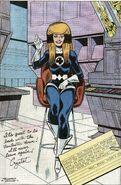 Crystalia Amaquelin (Earth-616) second Fantastic Four uniform from Fantastic Four Annual Vol 1 21