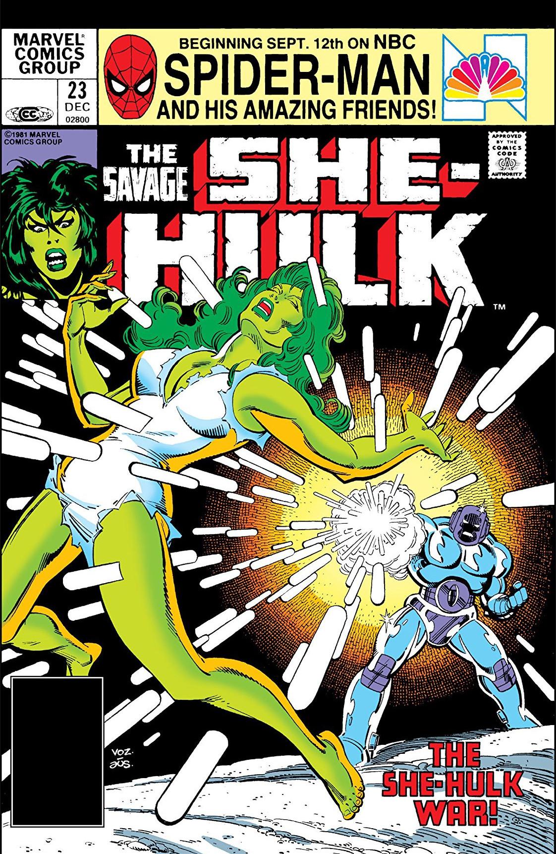 Savage She-Hulk Vol 1 23