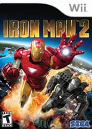 Iron Man 2 Wii cover