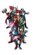 Uncanny Avengers Vol 1 1 Textless