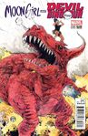 Moon Girl and Devil Dinosaur Vol 1 3 Pope Variant