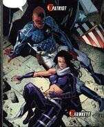 Elijah Bradley (Earth-616) and Katherine Bishop (Earth-616) 002