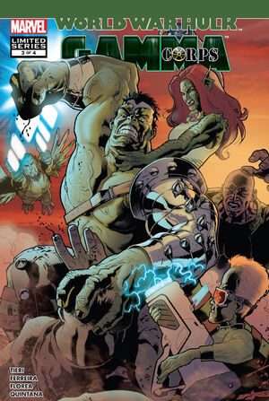 World War Hulk Gamma Corps Vol 1 3