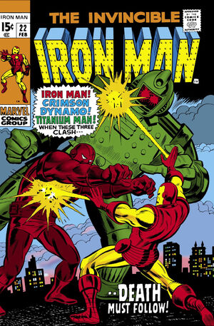 Iron Man Vol 1 22