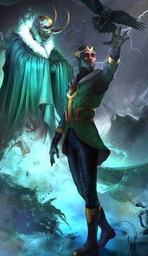 Loki Laufeyson (Kid Loki) (Earth-616) from Marvel War of Heroes 001