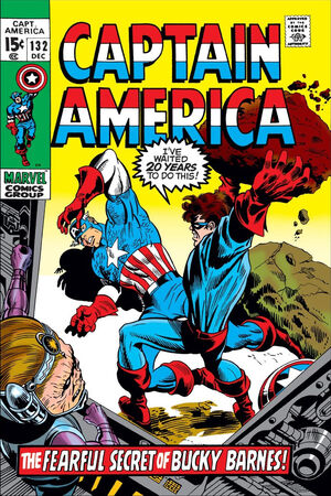 Captain America Vol 1 132