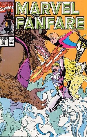 Marvel Fanfare Vol 1 55