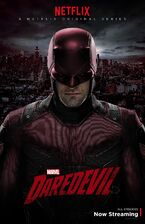 Daredevil Red Costume Poster