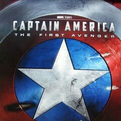 Captain America: The First Avenger poster.