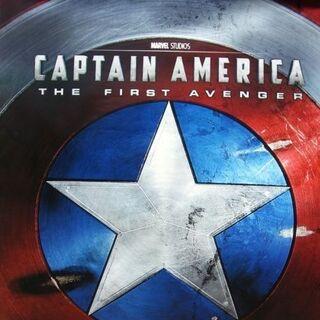 Captain America: The First Avenger poster.