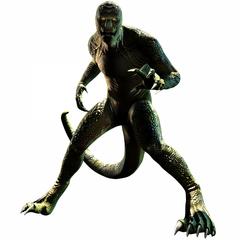 The Lizard Video Game Render 2