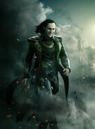 Thor the dark world textless Loki