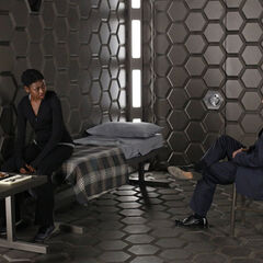 The Bus' interrogation room on <i>Agents of S.H.I.E.L.D.</i> is made entirely out of Vibranium.