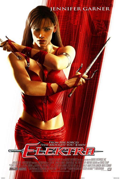 Elektra poster Elektra Marvel