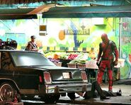 Deadpool reshoots 3