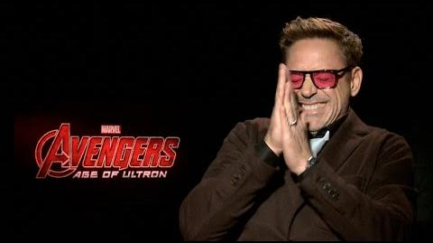 Avengers Age of Ultron interviews - Downey Jr, Hemsworth, Evans, Spader, Ruffalo, Johnasson, Renner