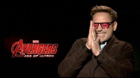 Avengers Age of Ultron interviews - Downey Jr, Hemsworth, Evans, Spader, Ruffalo, Johnasson, Renner